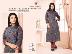 Cotton Kurti With Pant