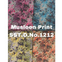 Digital Print Muslin Fabric