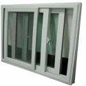 Aluminum 3 Track Sliding Window