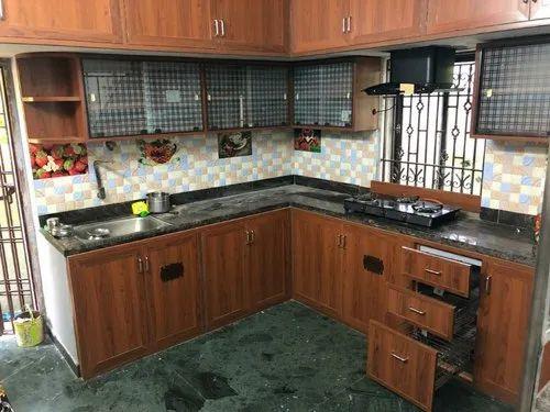 Pvc Membrane Kitchen Pvc Modular Kitchen Wholesale Trader From Chennai