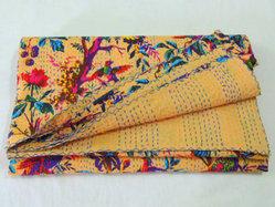 Indian Vintage Kantha Quilts