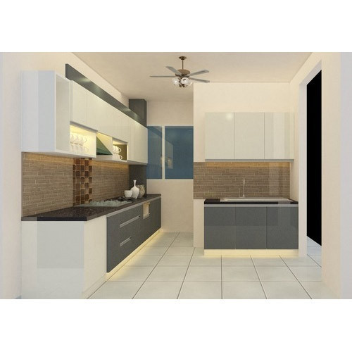 Open Kitchen Noida: Straight Modular Kitchen At Rs 1000 /square Feet