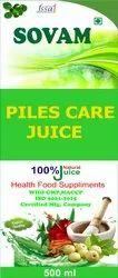 Sovam 18 Months Piles Care Juice, Packaging Type: Bottle