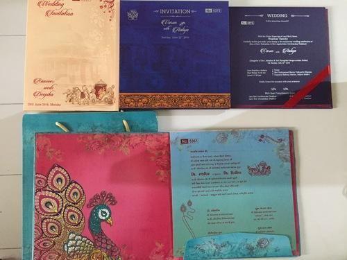 Book Style u0026 Box Invite Paper u0026 Fabric Kankotri / Invitation Card & Book Style u0026 Box Invite Paper u0026 Fabric Kankotri / Invitation Card ... Aboutintivar.Com