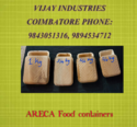 Areca FOOD CONTAINER  Making Machine