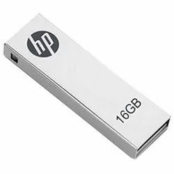 White HP Pen Drive, Memory Size: 16 Gb, Packaging Type: Packet