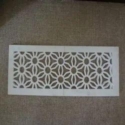 Modern Rectangular Marble Jali