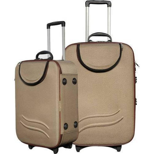 e2c0684f1 Plain Polyester Trolley Bag Set