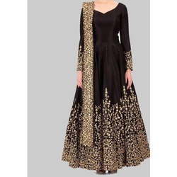 Party Wear Embroidered Ladies Partywear Suit
