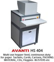 AVANTI HS 404 Heavy Duty Paper Shredder