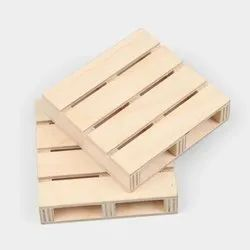 Rectangular 2 Way Two Ways Hard Wooden Pallet, For Shipping, Capacity: 500 Kg