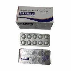 Betahistine Hydrochloride 8 mg Tablet IP