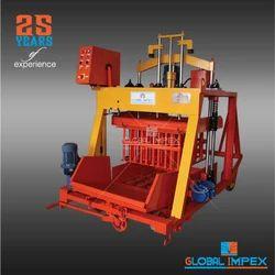 Global 860 Jumbo Hydraulic Concrete Block Making Machine