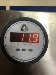 CBDPG-1L-LCD Aerosense Digital Differential Pressure Gauge Range 0-250 PA