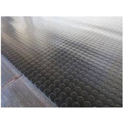 Black Rubber Flooring Sheet