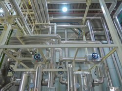 Steam Pipe Line Fabrication Services
