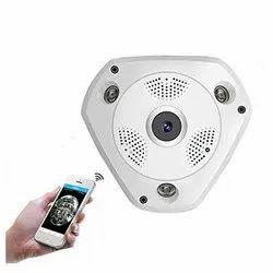 HD 1.3 MP Wireless Fisheye IP 3D VR 360 Degree Panoramic 960p Wi-Fi CCTV with SD Memory Card slot
