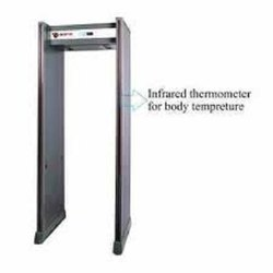 Door Frame Metal Detector With Infrared Thermometer