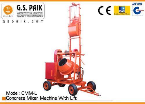 Concrete Mixer Machines Concrete Mixer Machine With Lift