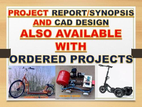 Mechanical Projects Synopsis Pdf