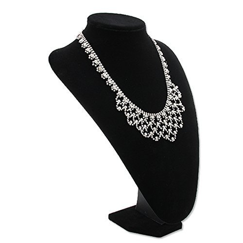 White Black Necklace Jewellery Display Stands Size Length X Impressive Bracelets Display Stands