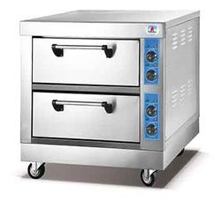 2 Deck 2 Tray Electric Oven