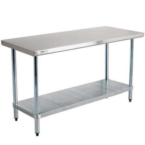 Marvelous 120*120*74 CM Stainless Steel Buffet Table