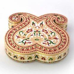 Paisley Design Meenakari Dryfruit Box 429
