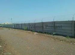 Open Land RCC Boundary Wall
