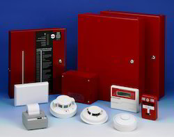 Red, White Fire Alarm System (Addressable