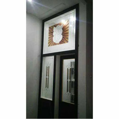 Glass Door - Glass Pooja Room Door Manufacturer from Bengaluru