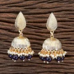 Indo Western Jhumkis with Gold Plating 100816