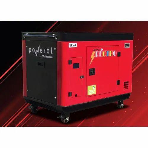 Mahindra Powerol Silent Portable Diesel Genset