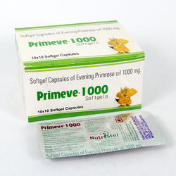 Evening Primrose Oil 1000 mg Softgel Capsules