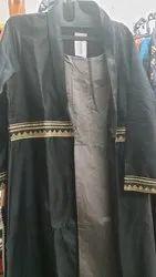 Long Black Kurtis