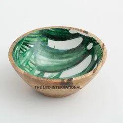 Fancy Wooden Bowl