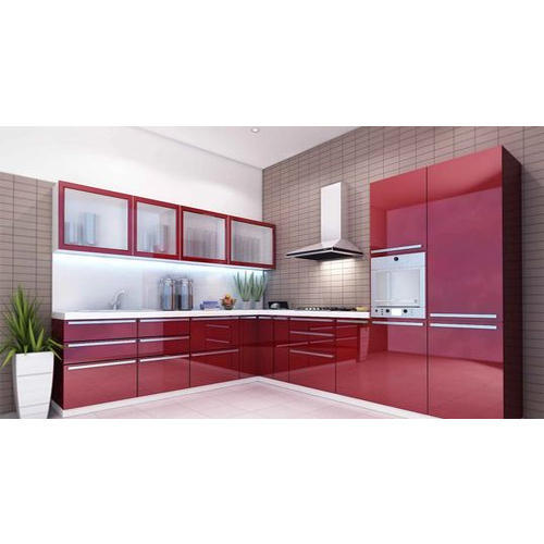 Modern Acrylic Modular Kitchen Rs 1500 Square Feet Dream Design