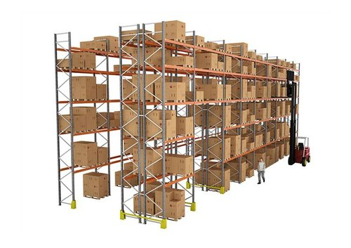 Omster Mild Steel Upright Pallet Rack
