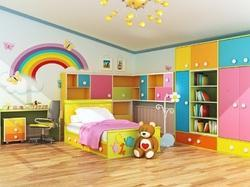 Colour Acccording To Client Need Kids Room Interior Designing