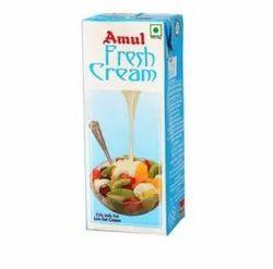 Amul Fresh Cream 250ml, Packaging Size: 8