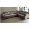 Cushion Back L Shape Sofa