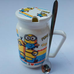 Cartoon Print Coffee Mug