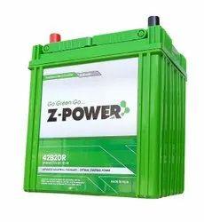 Z-Power Lead Acid Car Battery, Voltage: 12 V