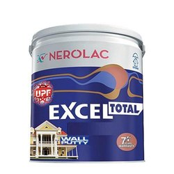 Wall Coating Nerolac Excel Total Wall Putty, Packaging Type: Bucket
