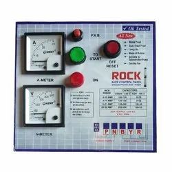 Rubber Rock Safe Three Phase Submersible Pump Control Panel, 230 V AC