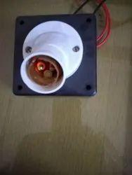 Plastic Bulb Holder, For Electrical Fitting, Base Type: E40