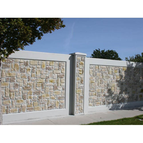 Boundary Wall Stone Wall Manufacturer From Surat