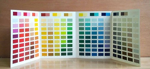 Color Chart - Paint Color Chart Manufacturer from Udaipur