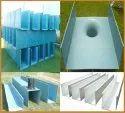 FRP Industrial Rainwater Gutter
