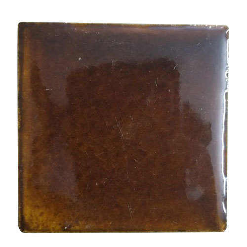 Ceramic Tiles Brown Plain Bathroom Tiles, 10-15 Mm